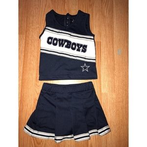 Other - Cowboys Cheerleader Toddle Two Piece